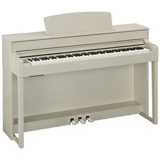 Yamaha Clavinova CLP545 Digital Piano, White Ash Package Deal