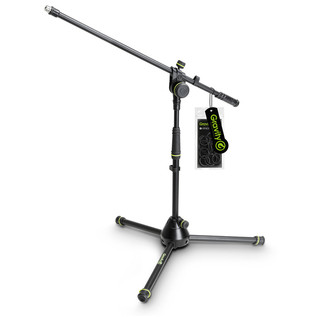 Gravity GMS4221B Short Microphone Stand with Boom