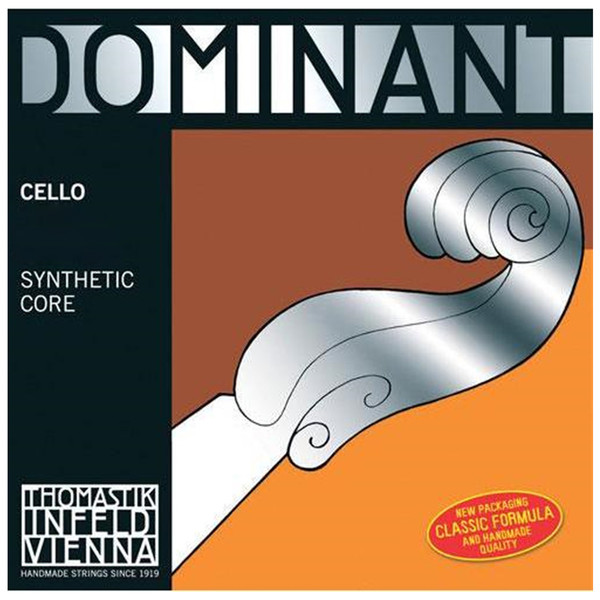 Dominant Cello C. Chrome Wound. 1/2