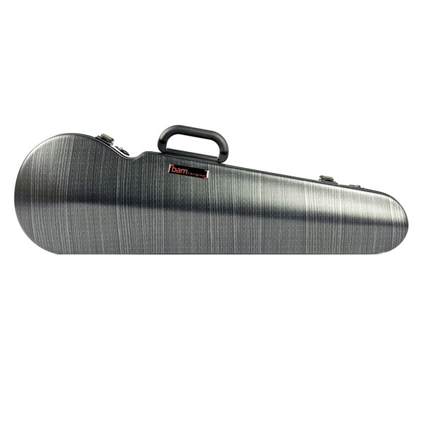 BAM 2002XL Hightech Shaped Violin Case, Black Lazure