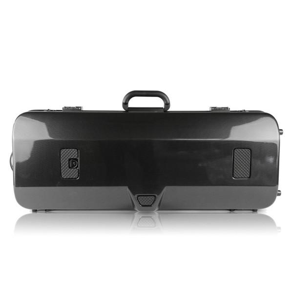 BAM 2201XL Hightech Oblong Viola Case, Black Carbon, Rear