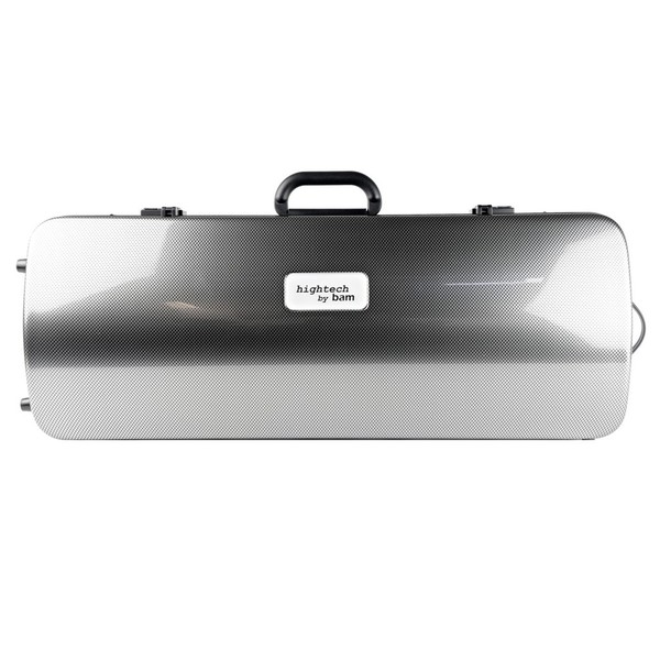 BAM 2201XL Hightech Viola Case, Silver Carbon
