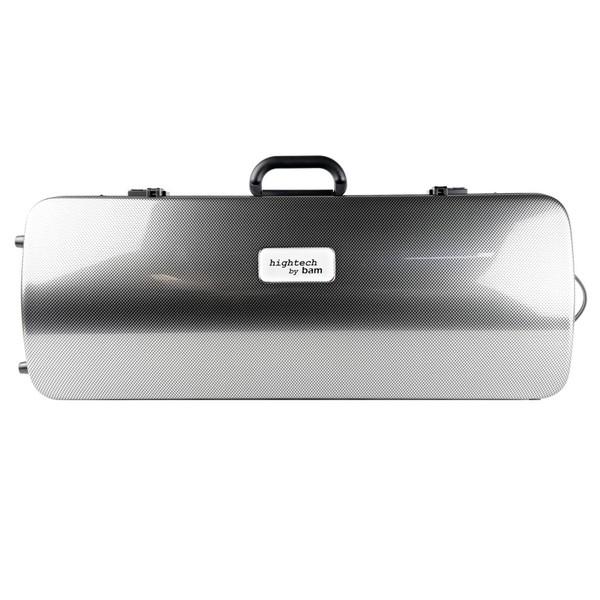 BAM 2201XL Hightech Viola Case, Silver Carbon