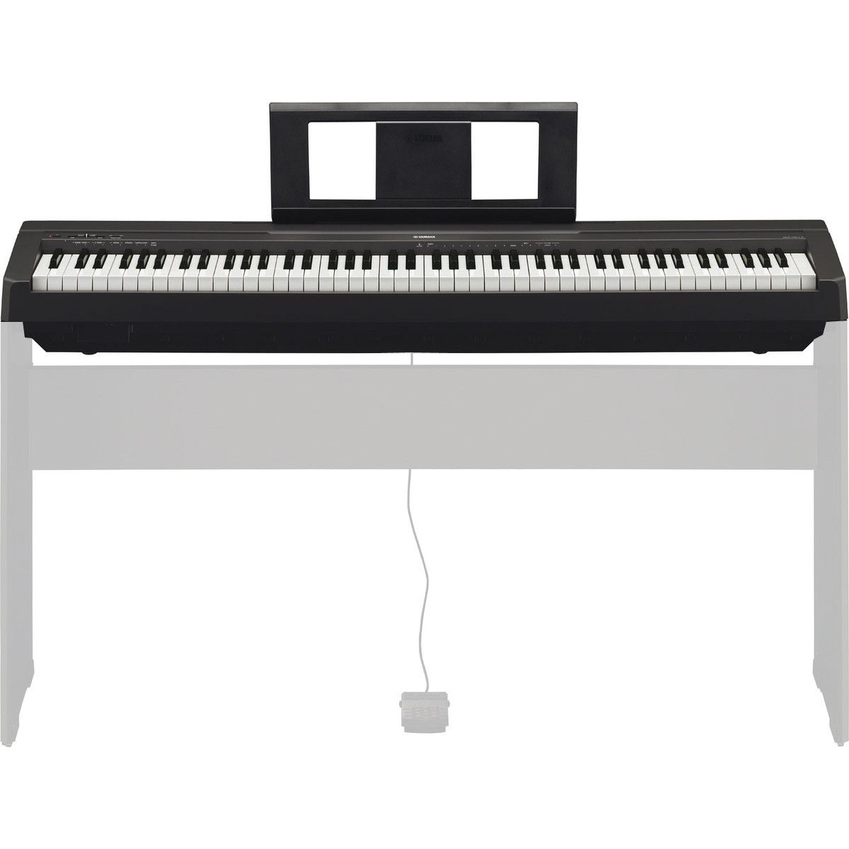 yamaha p45 piano digital negro gear4music. Black Bedroom Furniture Sets. Home Design Ideas