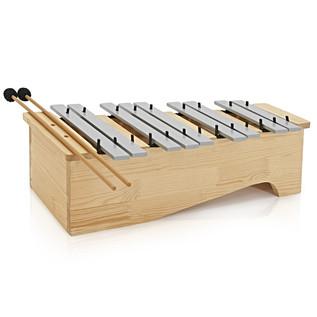 Floor Standing Soprano Glockenspiel by Gear4music, Chromatic Half