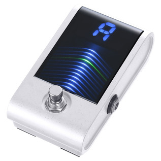 Korg Pitchblack Custom Pedal Tuner, White