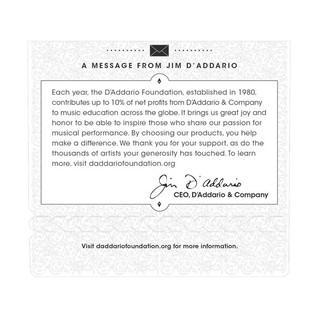 D'Addario EJ46FF Pro Arte Carbon-Dynacore Basses Hard Tension