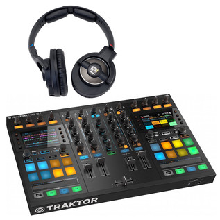 Native Instruments Traktor Kontrol S5 with KRK KNS8400 Headphones