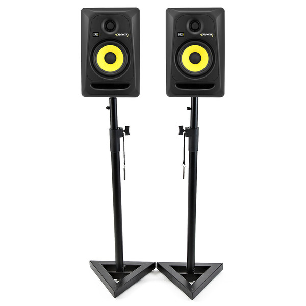 KRK Rokit RP5 G3 Active Monitors Including Monitor Stands