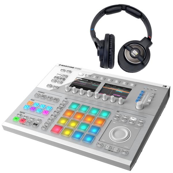 Ansluta MIDI-tangentbord till Maschine