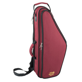 Tom and Will 36AS Alto Saxophone Gig Bag, Burgundy and Black
