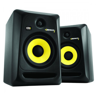 KRK Rokit RP6 G3 Active Monitors, Pair Including Monitor Stands