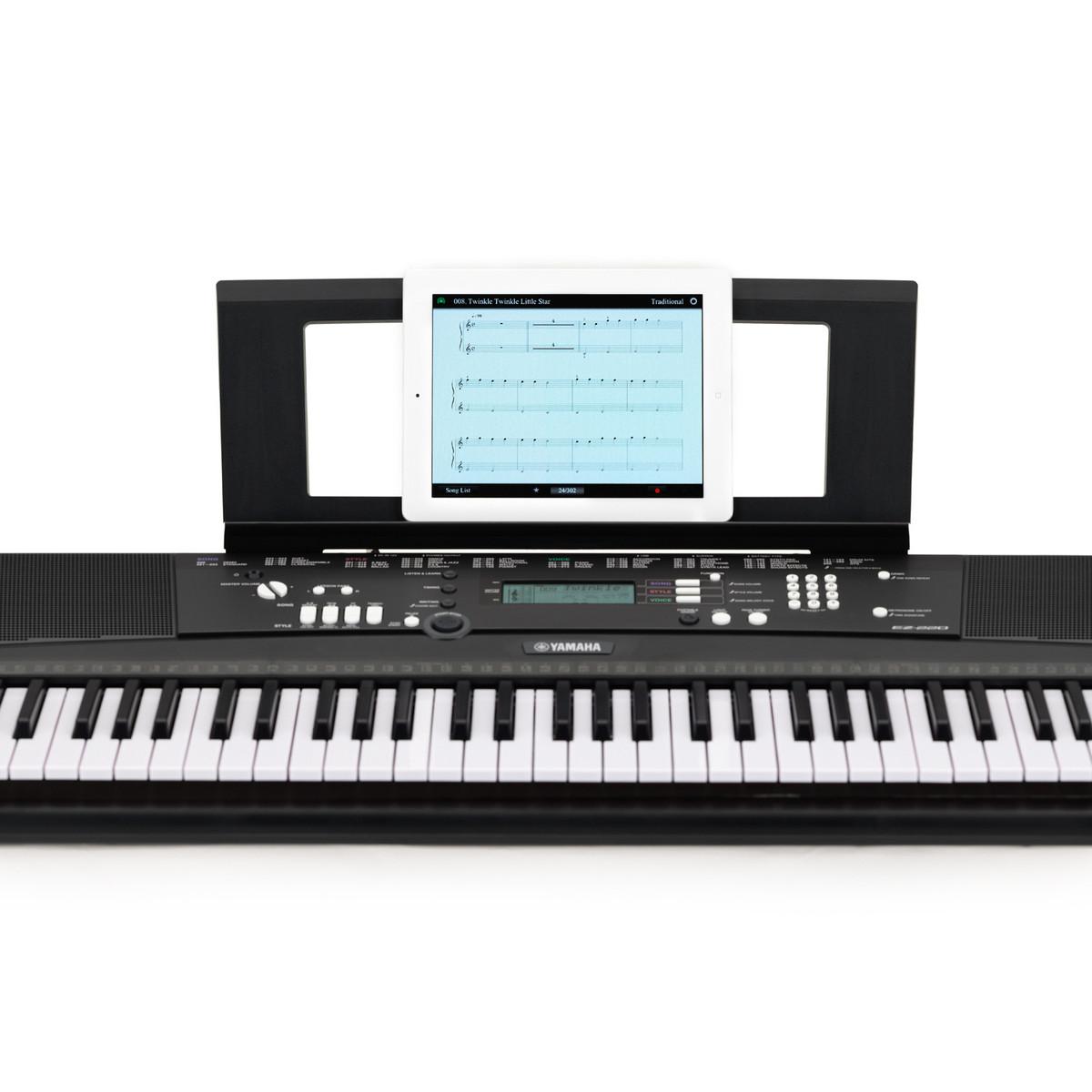 yamaha ez220 61 key lighting keyboard at gear4music. Black Bedroom Furniture Sets. Home Design Ideas