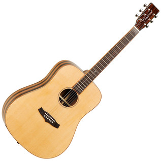 Tanglewood TWJD Java Dreadnought Cutaway, Natural