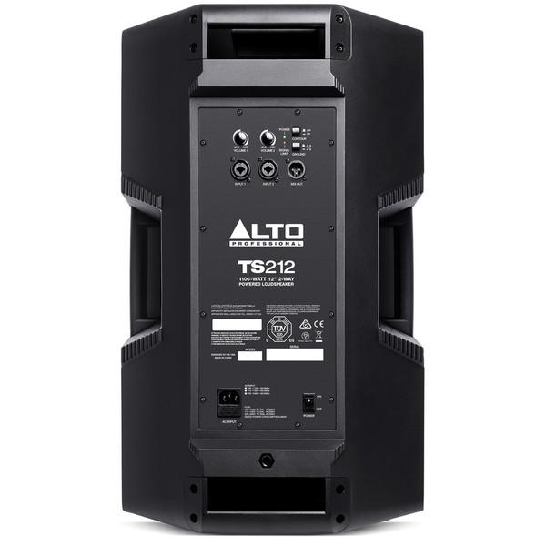 "Alto Truesonic TS212 12"" Active PA Speaker - Rear View"