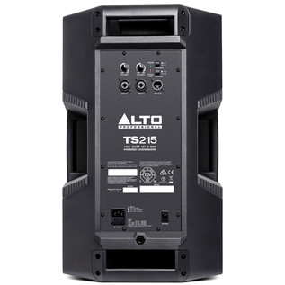 "Alto Truesonic TS215 15"" Active PA Speaker - Rear View"