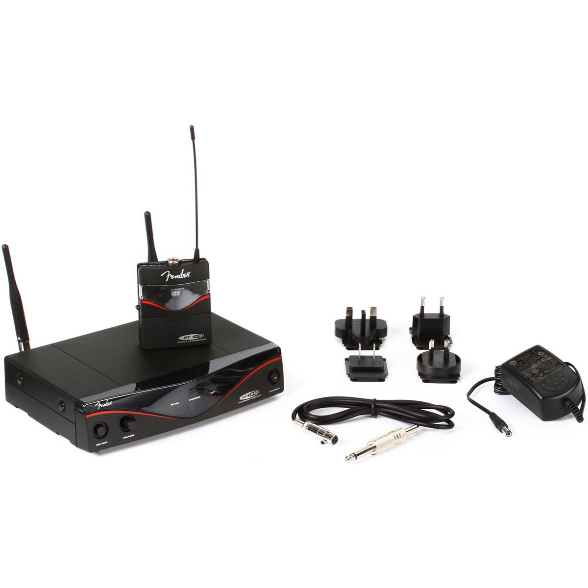 disc fender fwg1010 wireless system band d at gear4music. Black Bedroom Furniture Sets. Home Design Ideas