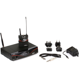 Fender FWG1010 Wireless System, Band D - Full Contents