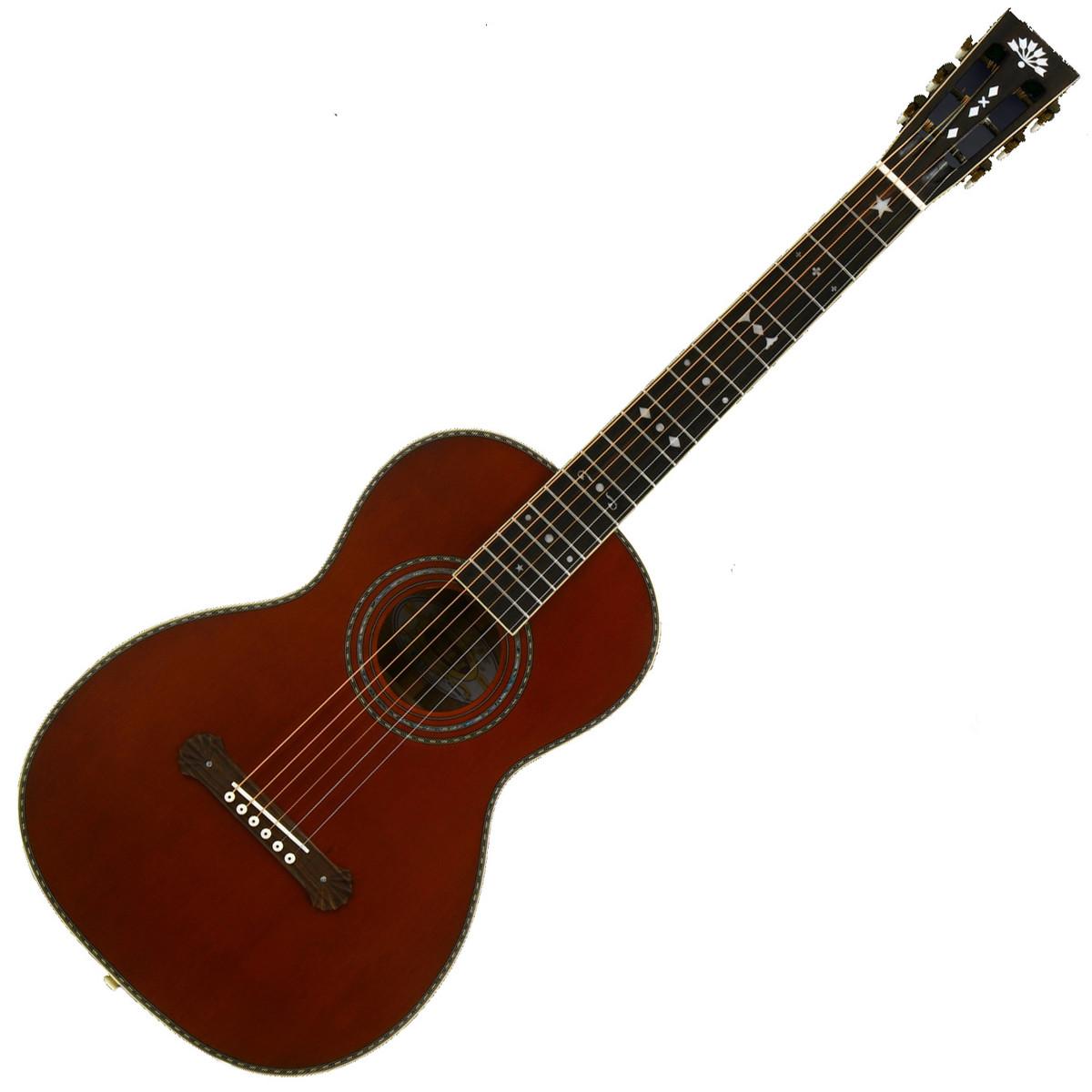 washburn r314k vintage series parlour acoustic guitar natural at. Black Bedroom Furniture Sets. Home Design Ideas