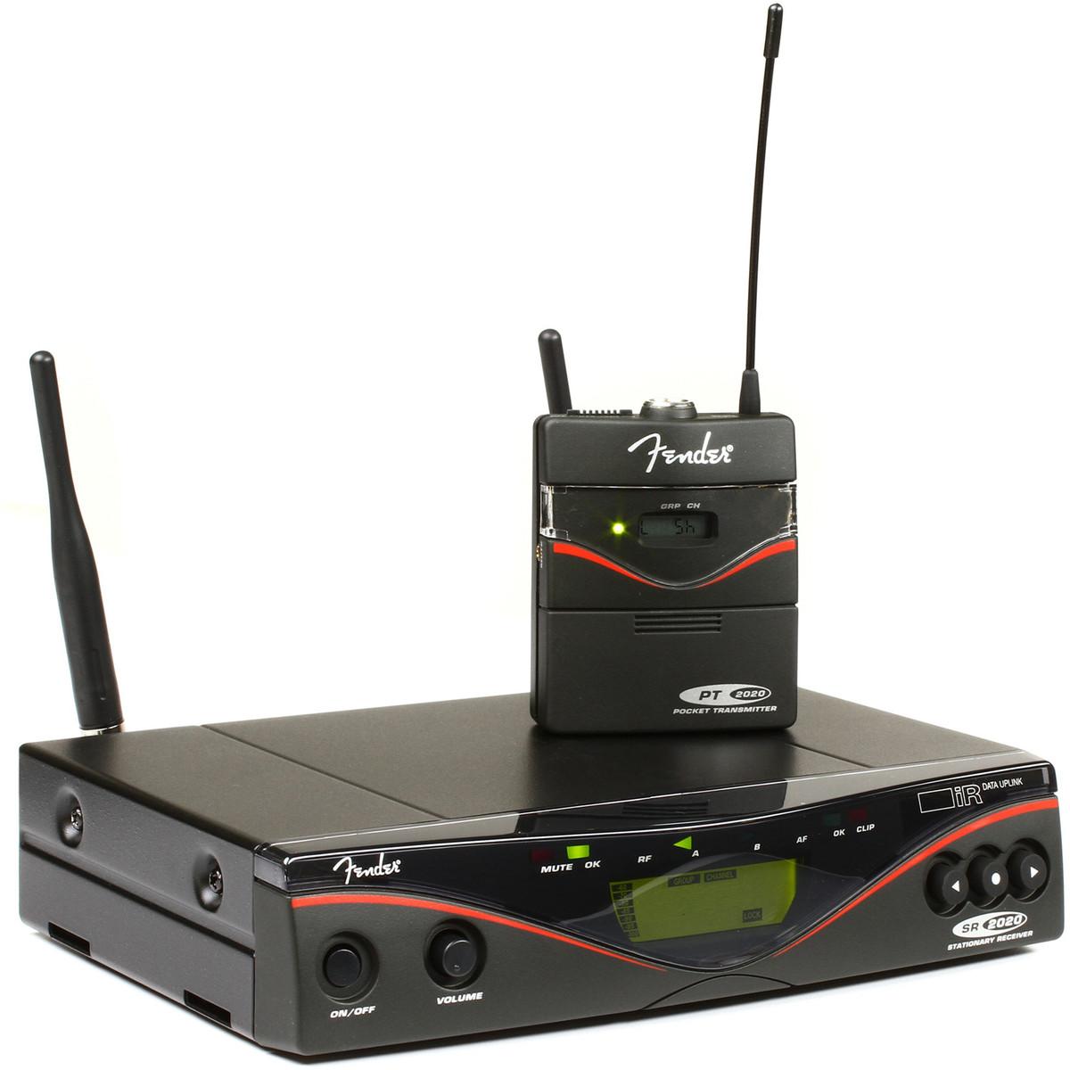 disc fender fwg2020 wireless system band 10 at gear4music. Black Bedroom Furniture Sets. Home Design Ideas