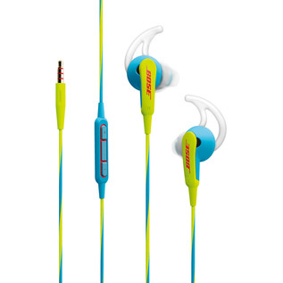 Bose SoundSport iOS Neon Blue