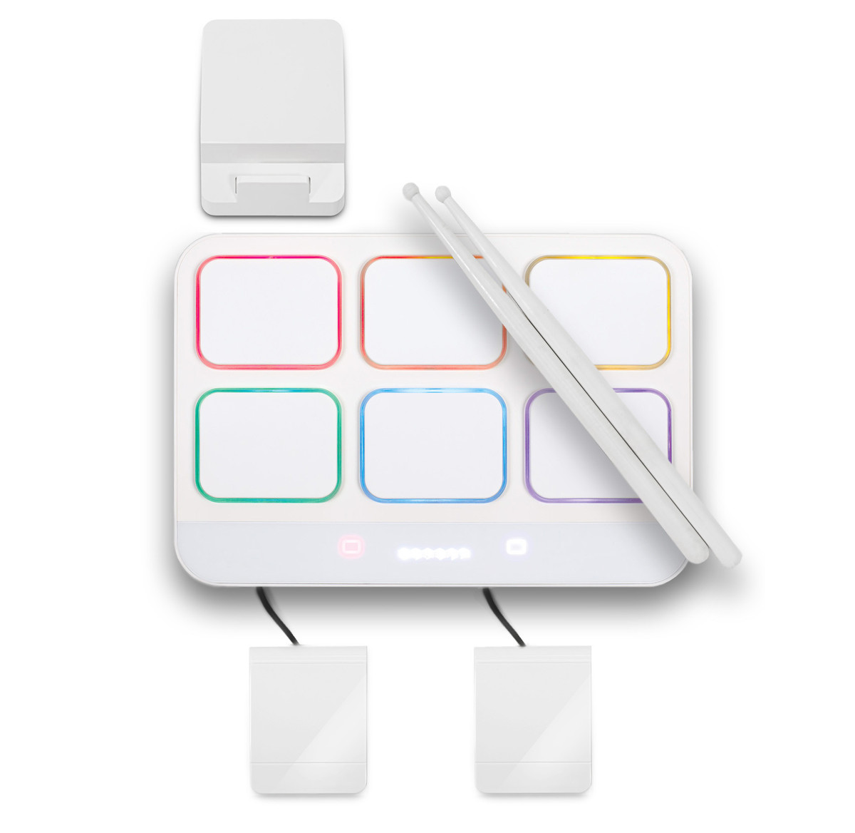 cubeat drum machine and midi controller for ipad pc nearly new at gear4music. Black Bedroom Furniture Sets. Home Design Ideas
