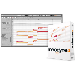 Celemony Melodyne 4 Editor - Box And Screenshot