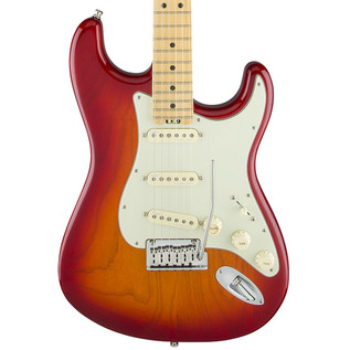 Fender American Elite Stratocaster MN, Aged Cherry Burst