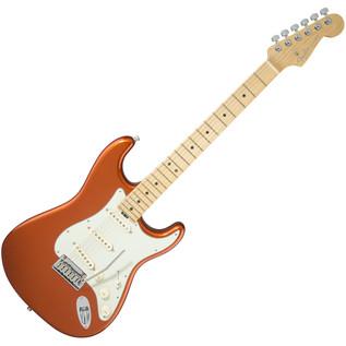 Fender American Elite Stratocaster MN, Autumn Blaze Metallic