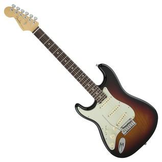 Fender American Elite Left-Handed Stratocaster RW, 3-Tone Sunburst