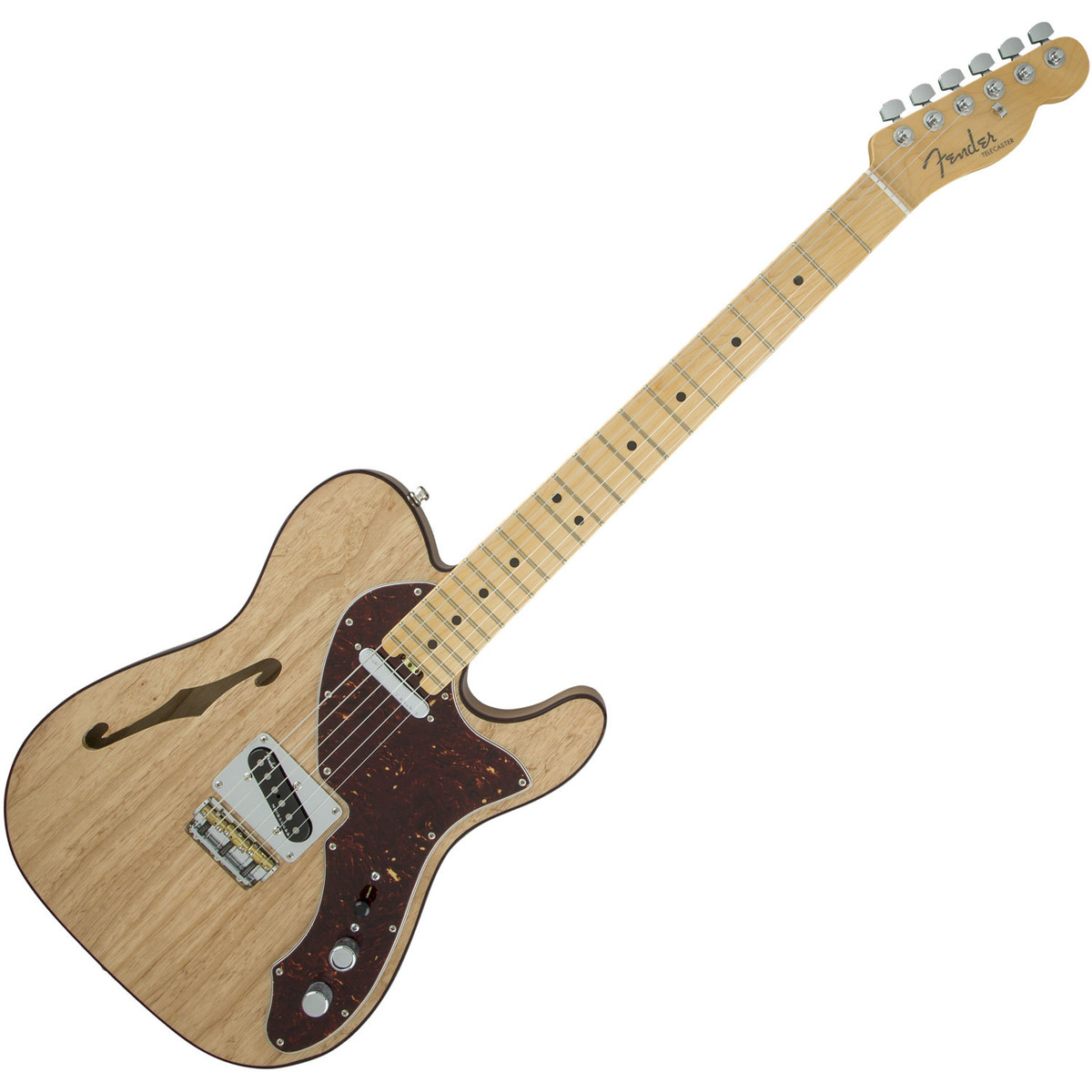 fender american elite telecaster thinline mn natural at gear4music. Black Bedroom Furniture Sets. Home Design Ideas