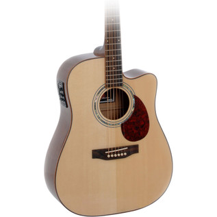 Freshman Apollo 3 DC Electro Acoustic Guitar, Natural