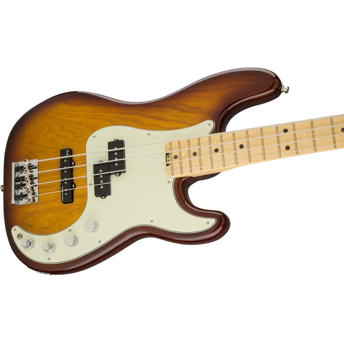 fender american elite p bass guitar tobacco sunburst at gear4music. Black Bedroom Furniture Sets. Home Design Ideas