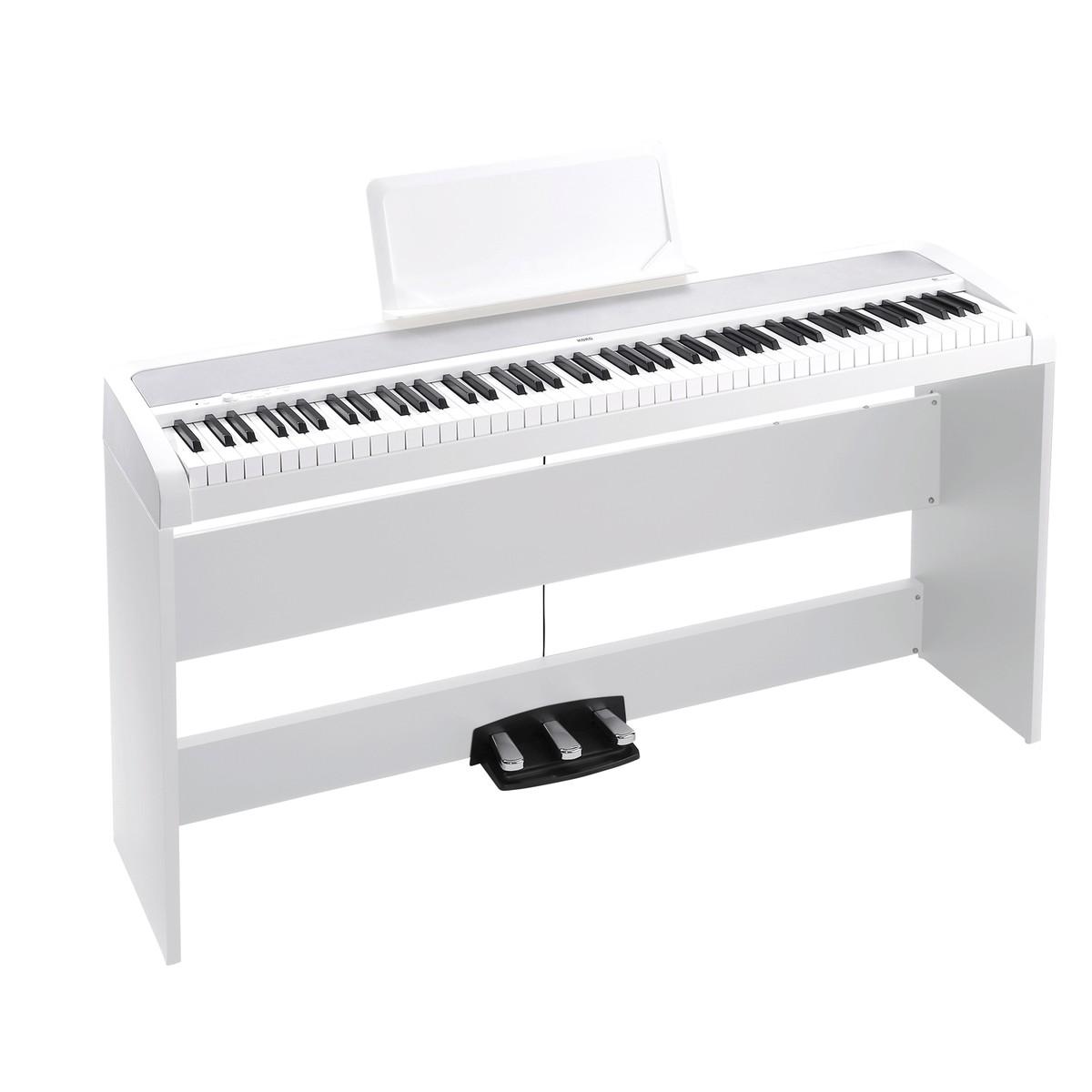 korg b1sp digital piano white at gear4music. Black Bedroom Furniture Sets. Home Design Ideas
