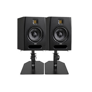 Adam F7 Active Studio Monitors with Desktop Stands, Pair