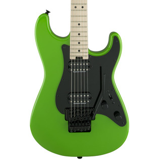 Charvel So-Cal Pro Mod Style 1 2H FR Electric Guitar, Slime Green