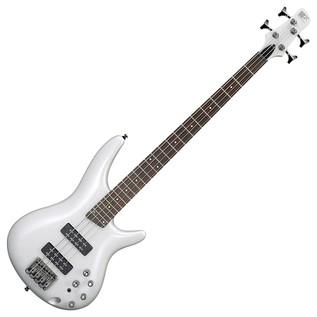 Ibanez SR300E Bass Guitar, Pearl White