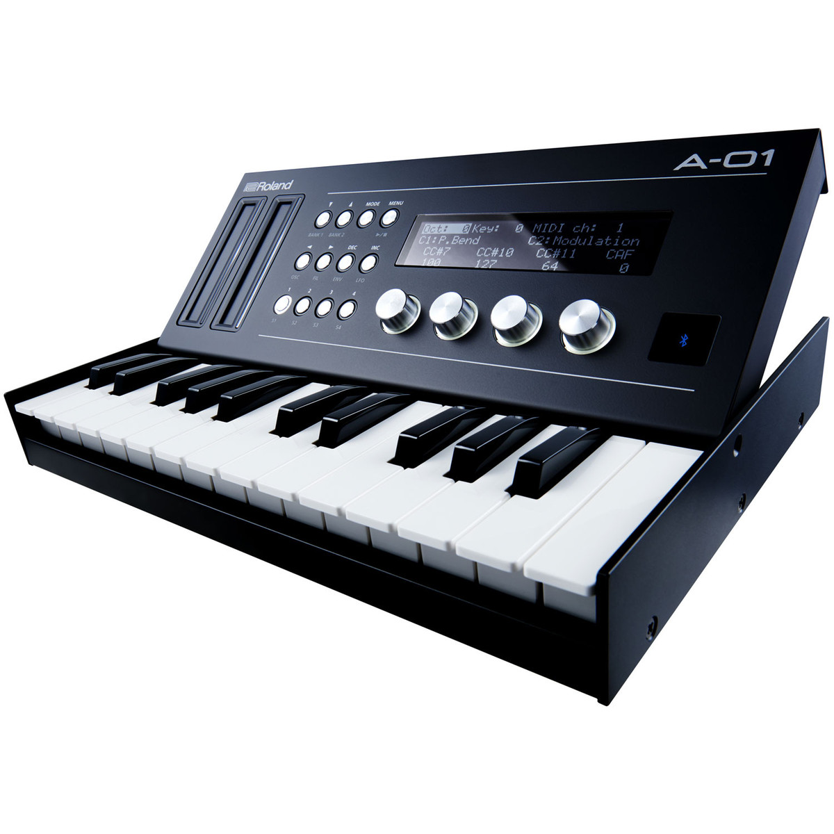 roland boutique a 01 midi controller and sound generator w keyboard at gear4music. Black Bedroom Furniture Sets. Home Design Ideas