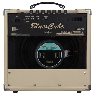Roland Blues Cube Hot Guitar Amp, Vintage Blonde