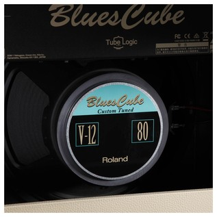 Blues Cube Hot Guitar Amplifier, Vintage Blonde