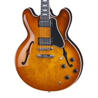 Gibson Memphis 2016 ES-335 Hollowbody Guitar, Faded Lightburst