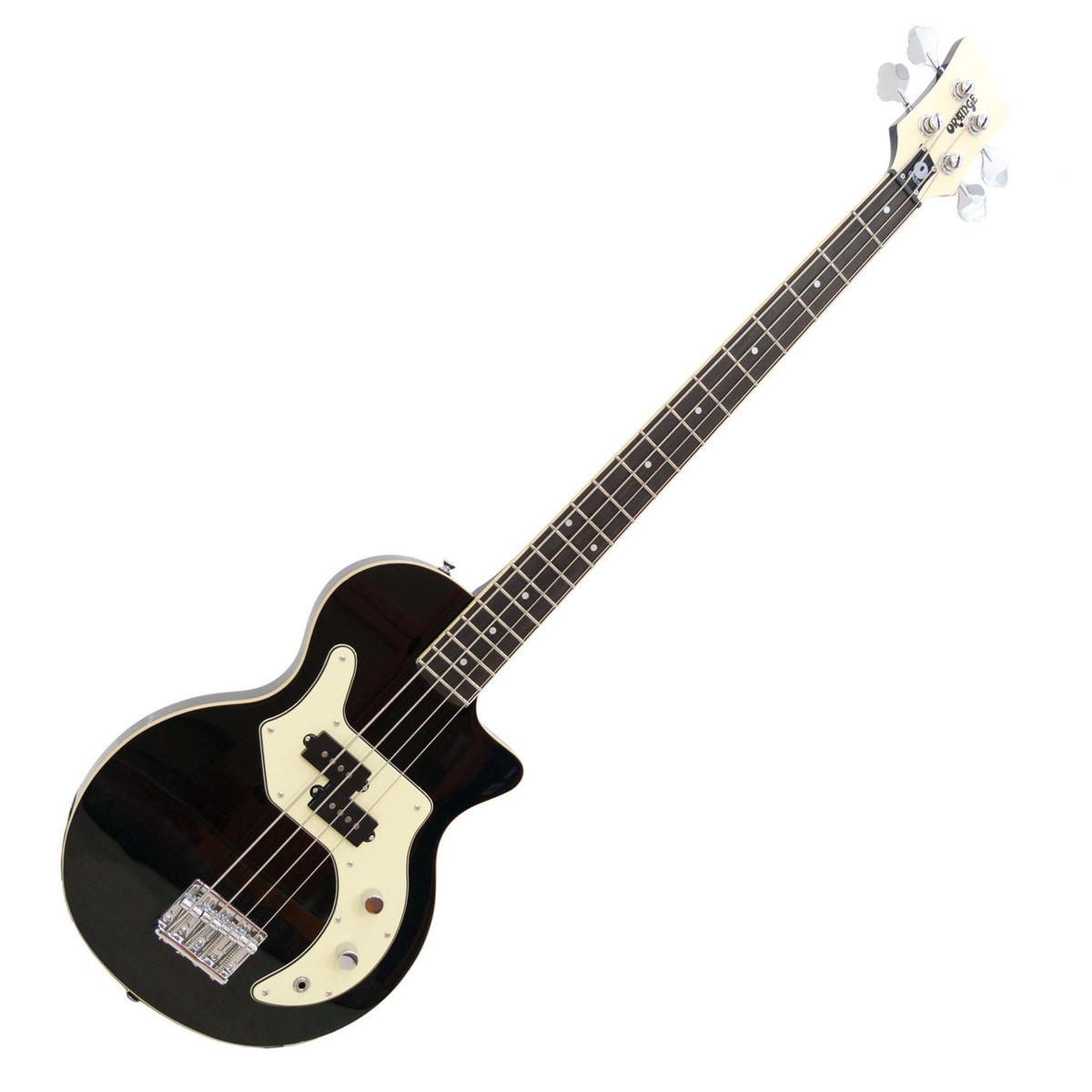 Orange O Bass Guitar Black At Gear4music
