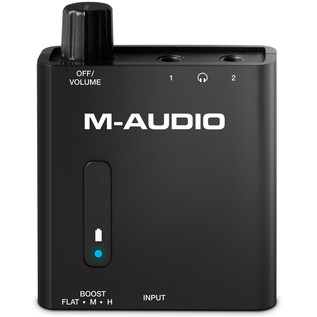 M-Audio Bass Traveler Headphones Amp - Front
