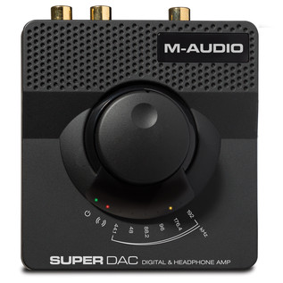 M-Audio Super DAC Digital to Analog Converter - Front