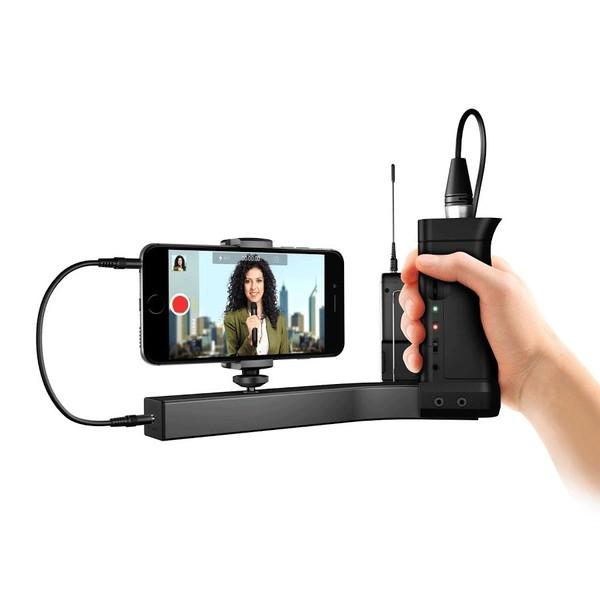 IK Multimedia iKlip A/V Broadcast Mount for Smartphone