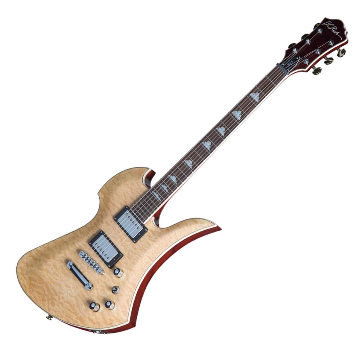 preview bc rich mockingbird mk5 electric guitar, natural at gear4music com bc rich eagle wiring diagram at gsmportal.co