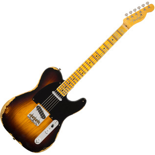 Fender Custom Shop 1951 Heavy Relic Telecaster, Faded Sunburst