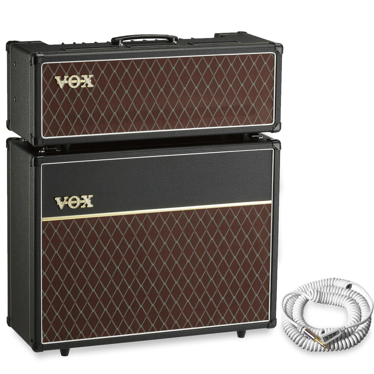Vox AC30 Head and V212C 2x12 Cabinet + Free Vox Cable at ...