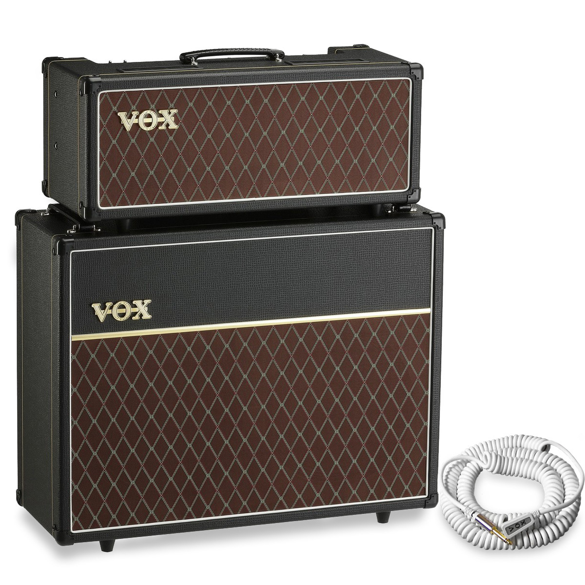 Disc Vox Ac15 Head And V212c 2x12 Cabinet Free Vox Cable