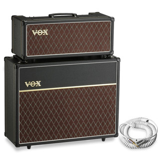 Vox AC15 Head & V212C 2x12 Cabinet + Free Vox Cable